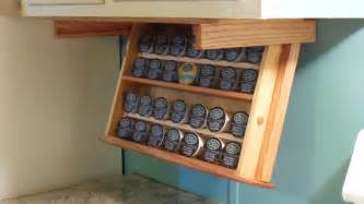 cabinet coffee cup holder k cup holder rack drawer stores and drops to by amwoodpro