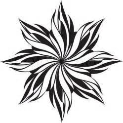 Designs In Black And White Flower Design Pattern Black And White Clipart Best