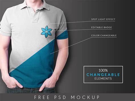 collar t shirt template psd multi feature free collar t shirt mock up psd