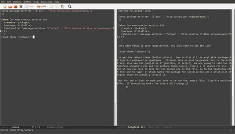 emacs tutorial github emacs ipython notebook installation tutorial measure of