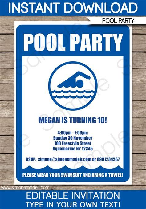 free party invitation free premium templates