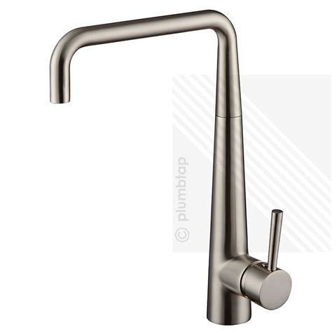 Arian Delight Single Lever Kitchen Mixer Tap Brushed Nickel