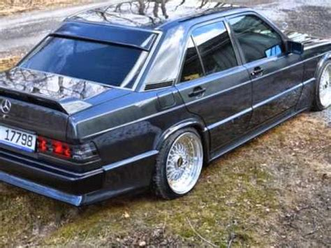 mercedes benz 190 tuning youtube