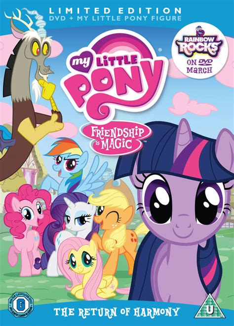 Seri Dvd Animasi My Pony Friendship Is Magic Season 1 my pony season 2 volume 1 the return of harmony