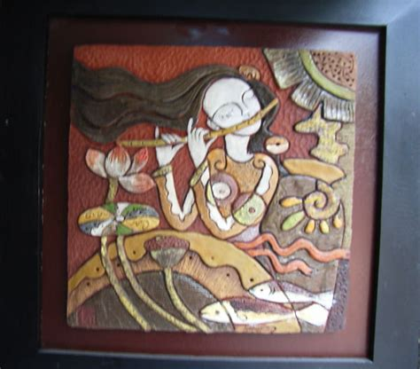 painting on ceramic tile craft ceramic tile painting photo