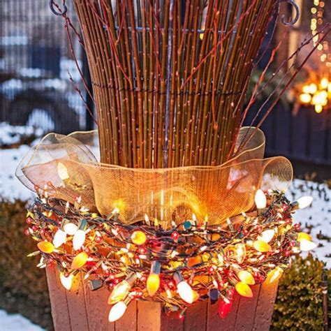 christmas light decoration ideas 50 trendy and beautiful diy lights decoration ideas in 2017