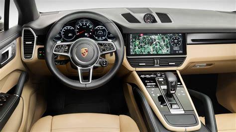2019 Porsche Interior by 2019 Porsche Cayenne Model Review Specs Pricing Trims
