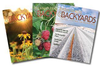 Barnyards And Backyards by The Magazine Barnyards Backyards Of Wyoming