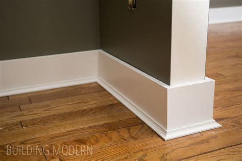 installing baseboards cove moulding and caulking ideas