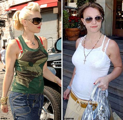 Britneys Bra Showing by Visible Bra Straps The Fashion Faux Pas Of The Summer