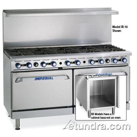 armoire range document imperial ir 10 xb 60 quot range w 10 burners standard oven etundra