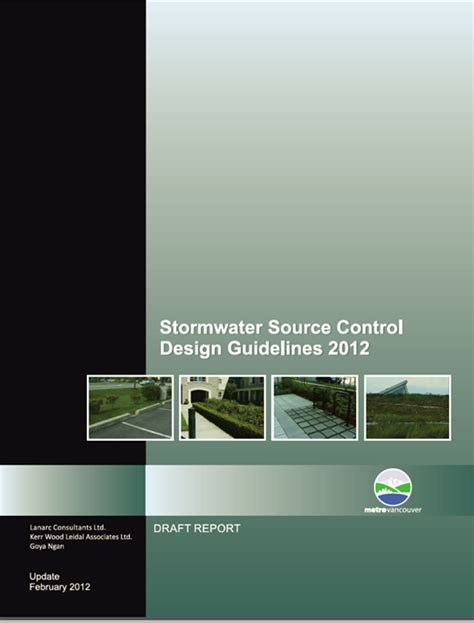 design guidelines for stormwater quality improvement devices new tools for design of stormwater source controls kerr