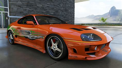 Walker Toyota Used Cars Paul Walker S Supra Forza 6 Cars The Fast And The