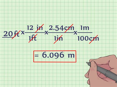 ft to meter how to convert feet to meters with unit converter wikihow