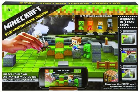 minecraft animation creator homeminecraft minecraft stop motion animation studio 17 99 selling