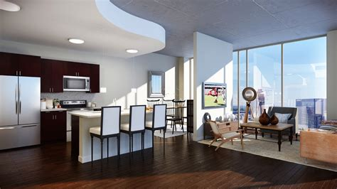 Apartment Rent Atlanta Near Tech High Rise Apartments In Atlanta Interior Design