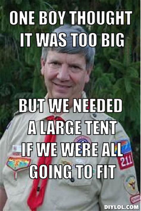 Scout Meme - harmless scout leader memes image memes at relatably com