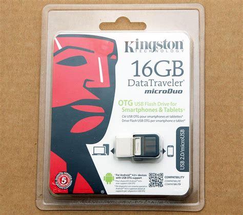 Usb Otg Kingston Dt Microduo 3 0 16gb kingston datatraveler microduo 16gb usb2 0 flash drive