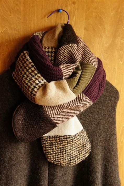 Patchwork Scarf - patchwork scarf inspiration needlework