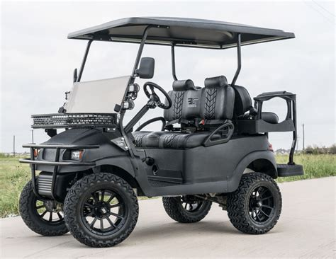 golf cart pitch black kevlar golf cart excessive carts