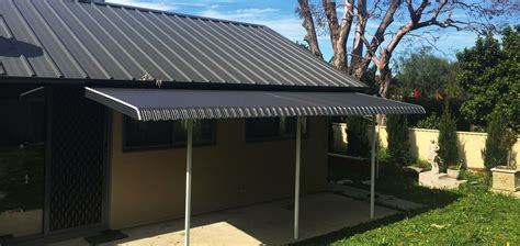fixed awnings fixed steel awnings wynstan