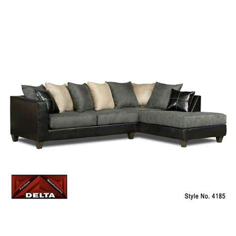 delta furniture sectional delta sectional sofa