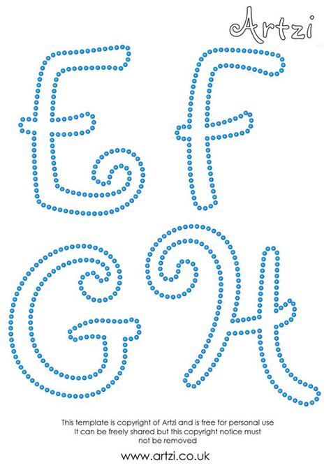 String Letter Templates - free rhinestone template downloads the gsd file