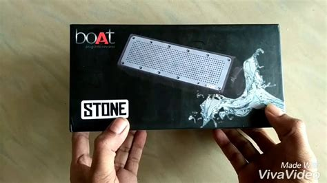 boat speakers stone 600 boat stone 600 bluetooth speaker unboxing and reviews
