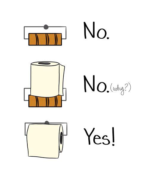 Toilet Paper Funny Bathroom Rules Cozy Reverie Cozy Reverie