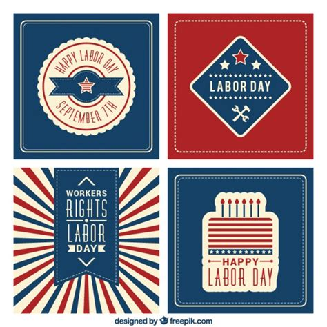how to make a labour day card happy labor day cards vector free