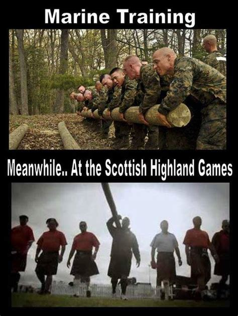 Meanwhile In Scotland Meme - marine training meme jokes memes pictures