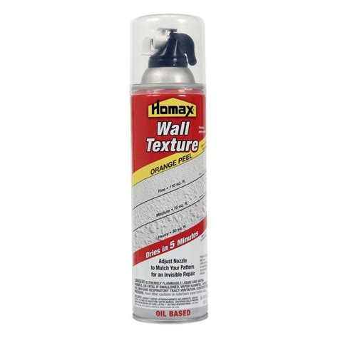 spray paint wall homax 20 oz wall orange peel based spray