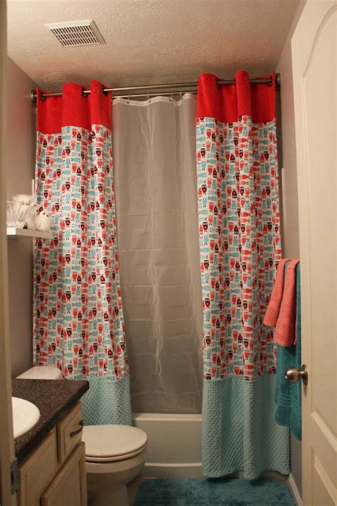 elegant double swag shower curtains curtain awesome double swag shower curtain captivating