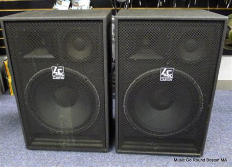 3 way ls carvin ls 1503 800w 15 quot 3 way speaker pair 2x free