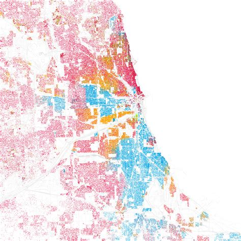 chicago map by race demographic maps are educational pretty the axis of ego