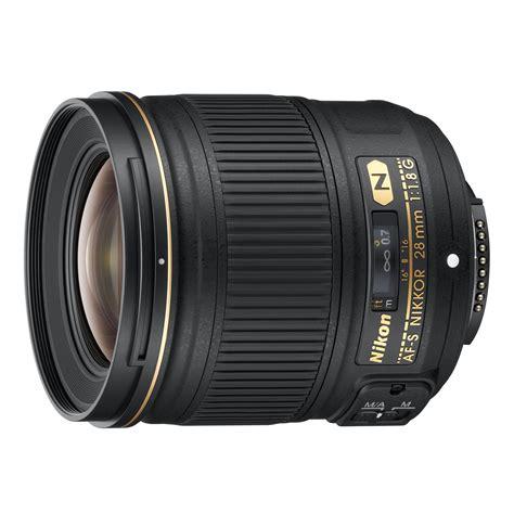 Grand Angle Appareil Photo by Nikon Af S Nikkor 28mm F 1 8g Objectif Appareil Photo
