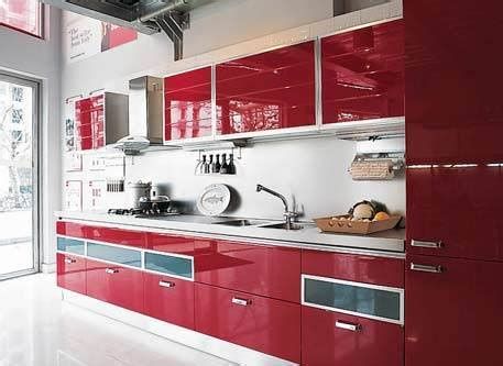 Chinese Kitchen Design by China Sweety Red Color Kitchen Kc010 China Kitchen