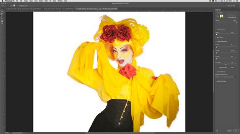photoshop cs3 vector mask tutorial photoshop tutorial how to use the new select and mask