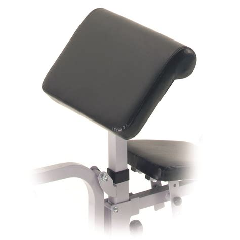 york preacher curl bench york fitness preacher curl attachment for 530 540