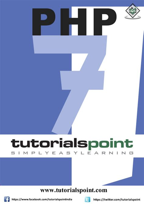 tutorial php 7 e books store tutorialspoint