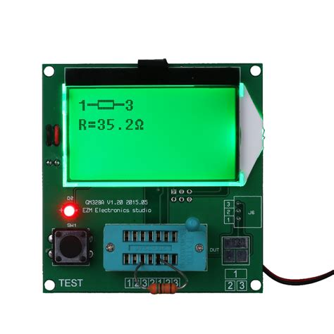 diodes generator gm328 functional transistor tester frequency square wave generator lcd diode triode capacitance