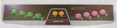 astro city control panels list of variations? arcade
