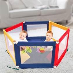 pokano hexagonal fabric baby playpen mat colour tikk