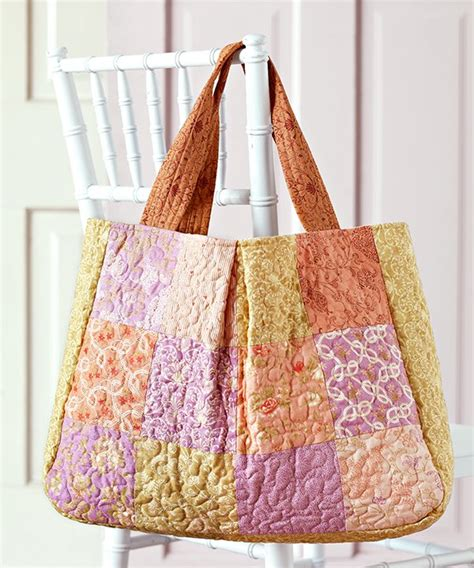 free printable quilted purse patterns market bag allpeoplequilt com