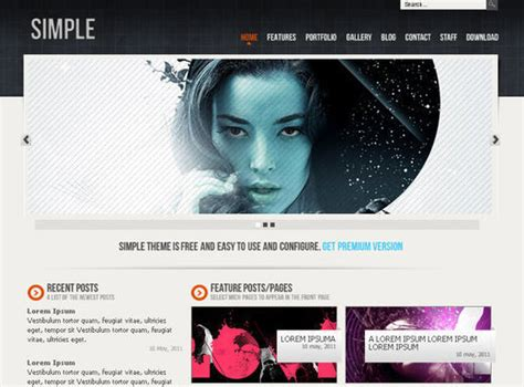 html5 profile template a new collection of free html5 and css3 templates