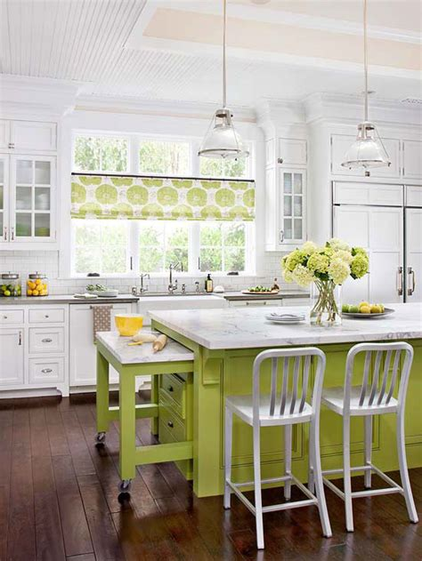 Decorative Ideas For Kitchen Modern Furniture 2013 White Kitchen Decorating Ideas From Bhg