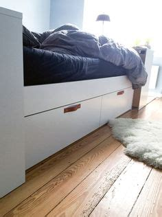 brimnes bed hack ikea hack p 229 brimnes s 228 ng diy bed interior pinterest