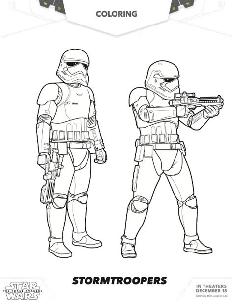 free coloring pages star wars the force awakens more free star wars the force awakens coloring pages