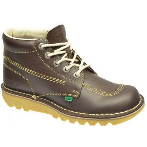 Kickers Boots Size 39 44 kickers kickers kick hi m chocolate brown n44 kf0000101 cdi mens boots kickers from