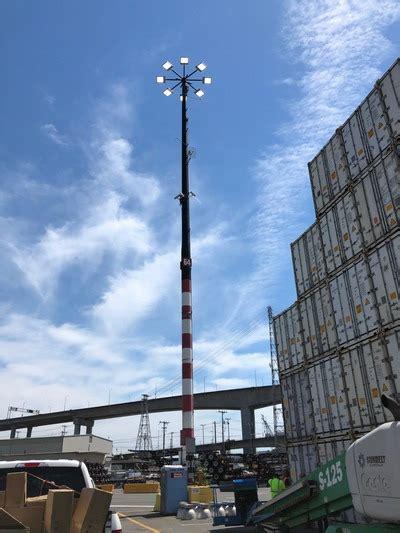 led high mast light led high mast lighting high pole lights myledlightingguide